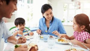 Rutin menyajikan menu sehat setiap hari